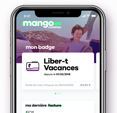 Application mobile optimisée V.E !